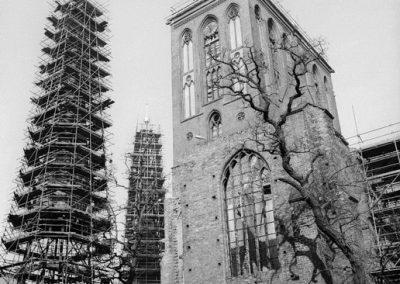Nikolaikirche Vista de las antiguas ruinas