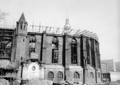 Nikolaikirche Vista de la ruina