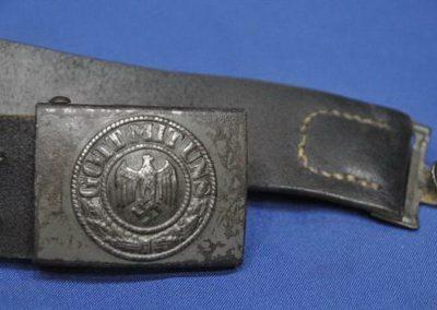 Cinturón de la Wehrmacht